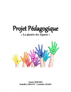 Projet Pédagogique 2020-2021